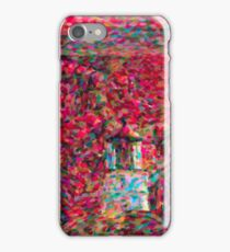 Umpqua Lighthouse Snow Colored Globe iPhone Case/Skin