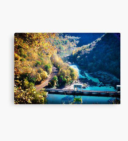 Hawks Nest Overlook Canvas Print