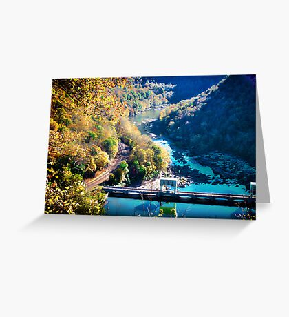Hawks Nest Overlook Greeting Card