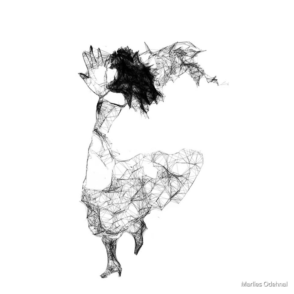 Scribbler dancer by Marlies Odehnal