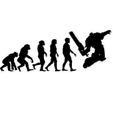 Evolution(Black) - Warhammer 40k by enrigabbiadini