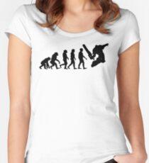 Evolution(Black) - Warhammer 40k Women's Fitted Scoop T-Shirt