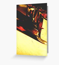 There's always a light in the dark. Greeting Card