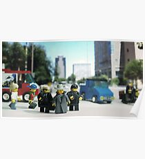 Lego Bodyguards Poster