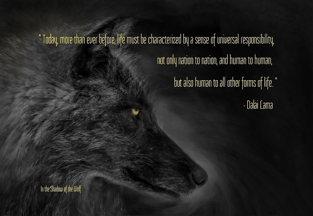 Universal Responsibility  by WolfShadow27