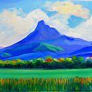 Mt.Warning, via Murwillumbah  by Virginia McGowan