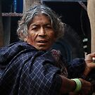 OLD LADY IN A COLD DAY by JYOTIRMOY Portfolio Photographer