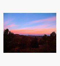 Cripple Creek Sunrise Photographic Print