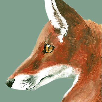 Mr Fox Portrait by ImogenSmid
