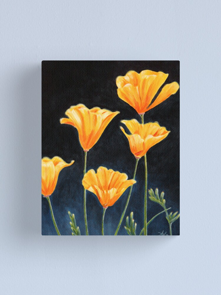 Alternate view of Cups of Gold Canvas Print