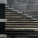 "Shanghai - Stairs & Squares by Christine ""Xine"" Segalas"