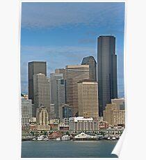 Seattle-Capital of Washington State, U.S.A. Poster