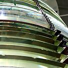 Fresnel Lens Of Tybee's Light by Julie's Camera Creations <><