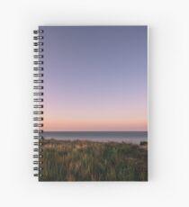 Beautiful Sunset at the Beach Spiral Notebook