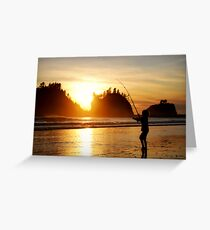 Child In The Sun Greeting Card