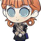 Annette - Fire Emblem Three Houses - Chibi Cutie by kickgirl