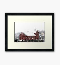 Motif #1 in the Winter Framed Print