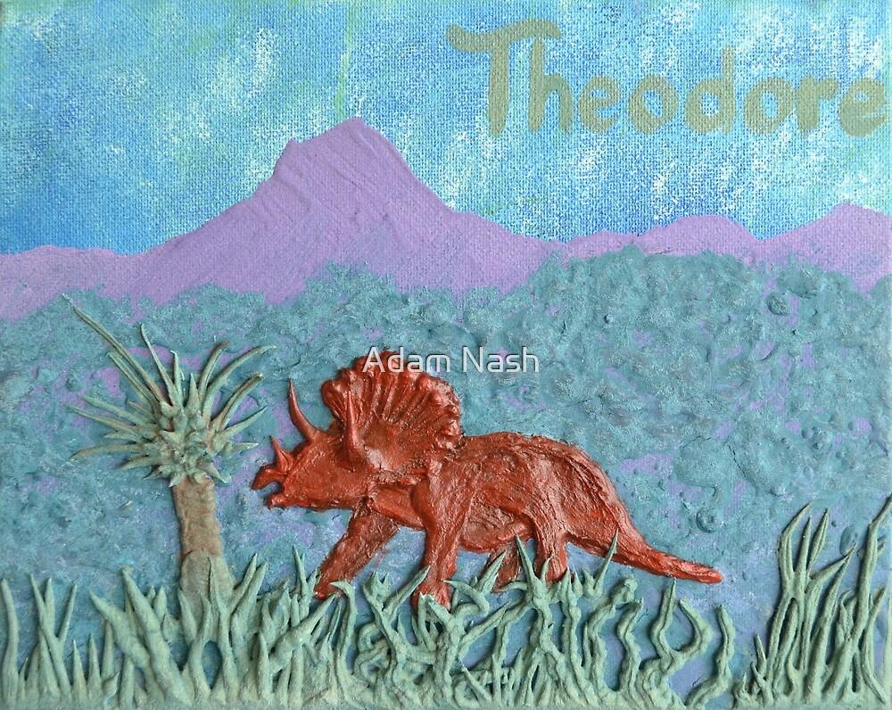 Kidz Stuff ~ Theodore The Dinosaur by Adam Nash