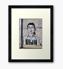 Wall art showing she nose how... * Framed Print