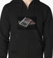 Nintendo Controllers Zipped Hoodie