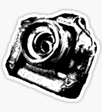 Lord of the cameras Sticker