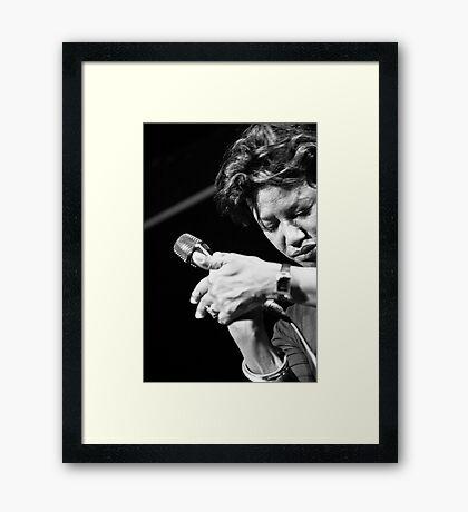 Deep (Carole Alston) Framed Print