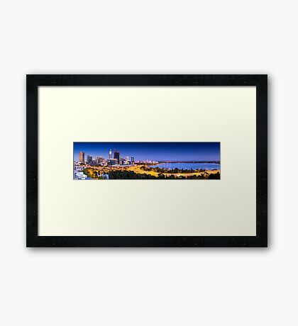 City of Perth Framed Print