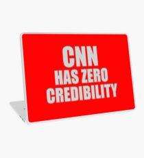CNN HAS ZERO CREDIBILITY Laptop Skin