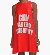 CNN HAS ZERO CREDIBILITY A-Line Dress