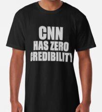 CNN HAS ZERO CREDIBILITY Long T-Shirt