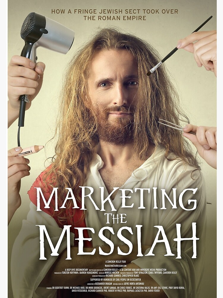 Marketing The Messiah Poster by lifeofcaesar