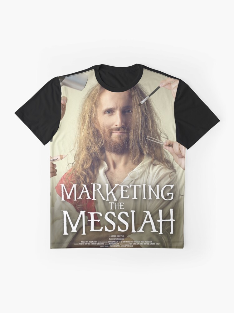 Alternate view of Marketing The Messiah Poster Graphic T-Shirt