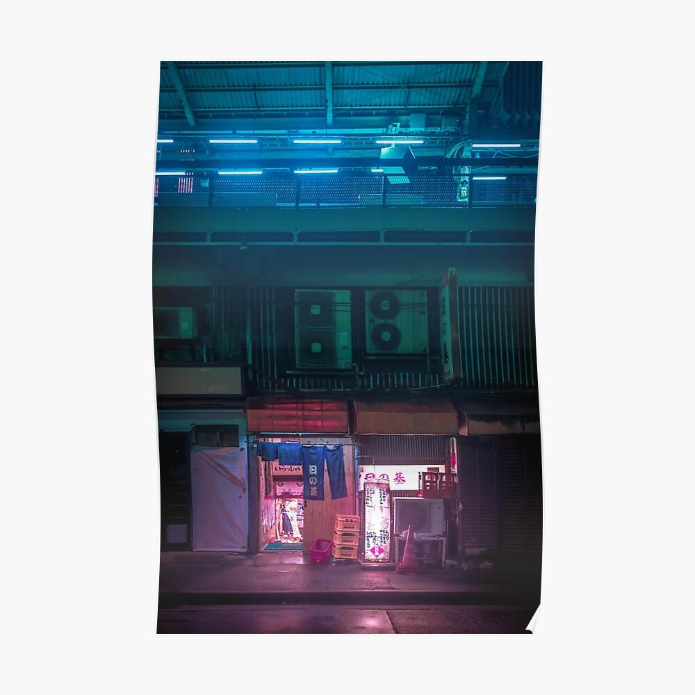 Neo Tokyo - Hidden bar Poster