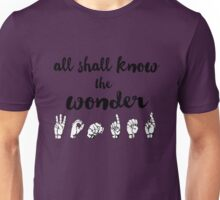 All Shall Know the Wonder - The Song of Purple Summer - Spring Awakening Unisex T-Shirt