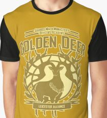 Golden Deer Graphic T-Shirt