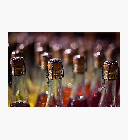 army of champagne Photographic Print