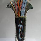 Johnstone Vase with Flowers by Jeffrey Hamilton