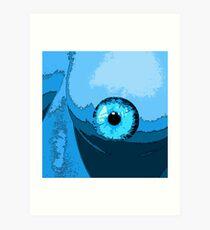 Fish eye?? Art Print