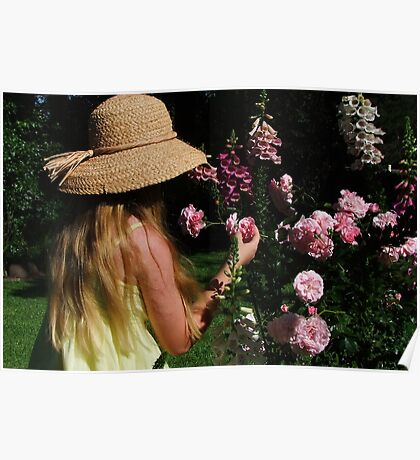 Taking Time to Smell The Roses! Poster