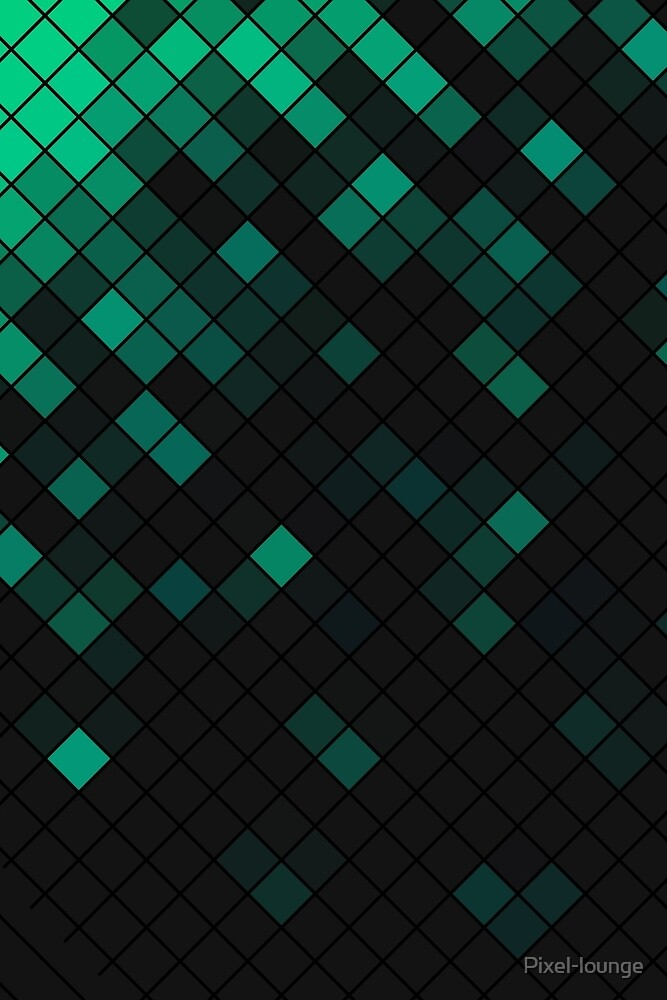 Pattern1 - black&green by Pixel-lounge