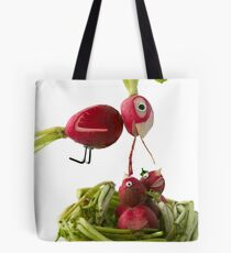 Radish Cardinal Tote Bag