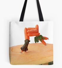 Pumpkin Skating... Tote Bag