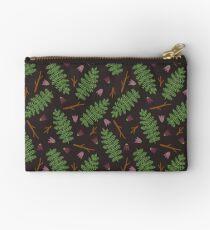 Fern forest Zipper Pouch