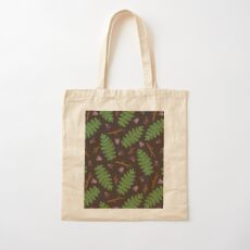 Fern forest Cotton Tote Bag