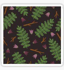 Fern forest Glossy Sticker