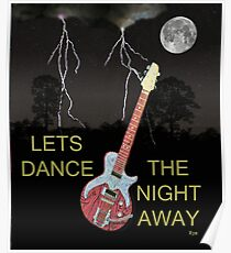 LETS DANCE THE NIGHT AWAY Poster