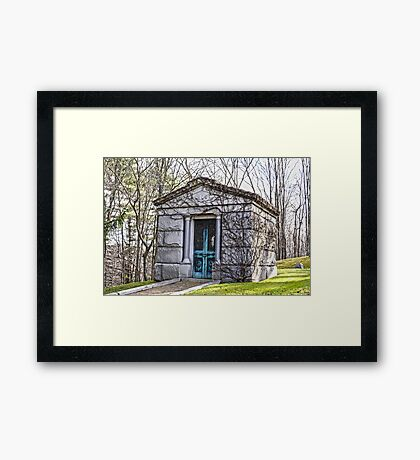 Tomb, Connecticut Framed Print