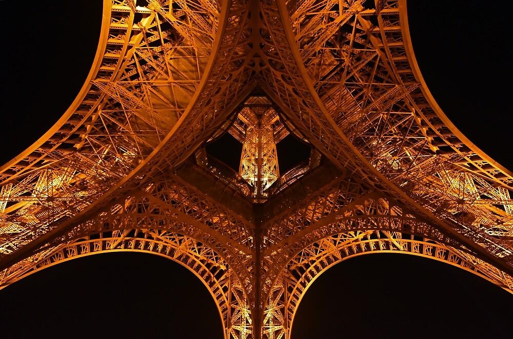 Under Eiffel by Wayne England