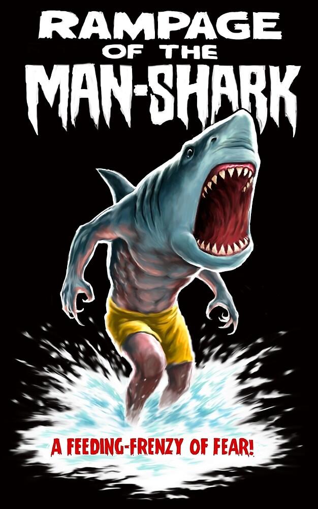 Rampage of the Man-Shark by Paul Mudie