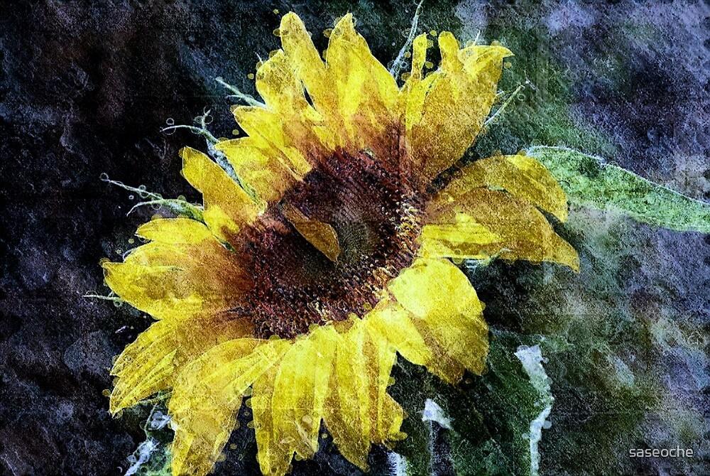Sunflower Mist by saseoche